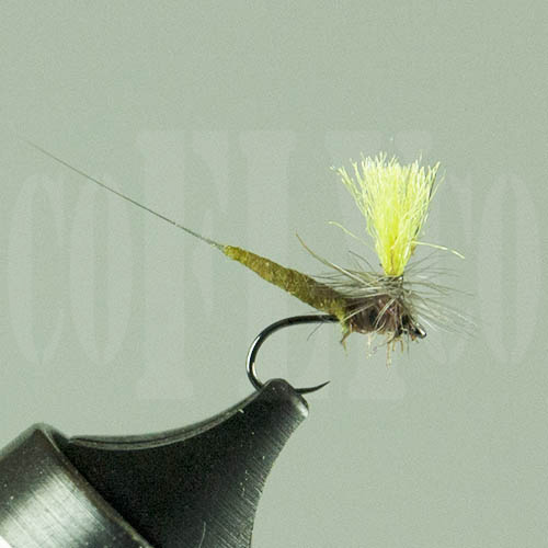 Blue Wing Olive Parachute HiVis SciFly