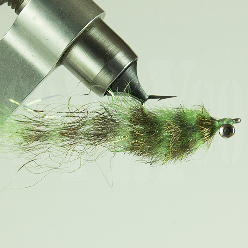 Matts Flashfibre Baitfish Mullet-Olive