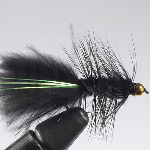 Flash Bugger Black Beadhead