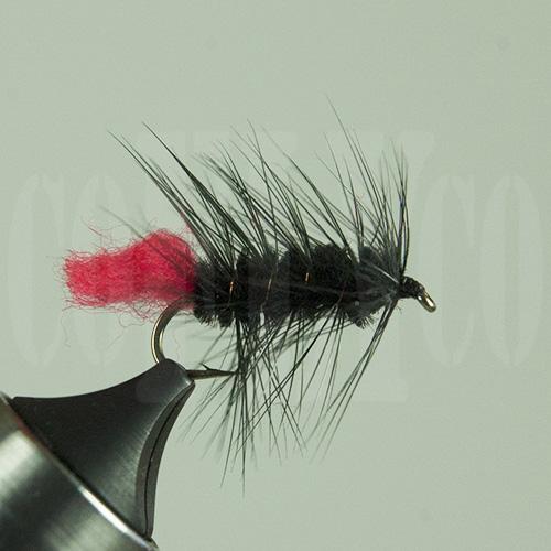 Wooly Worm Black Skykomish