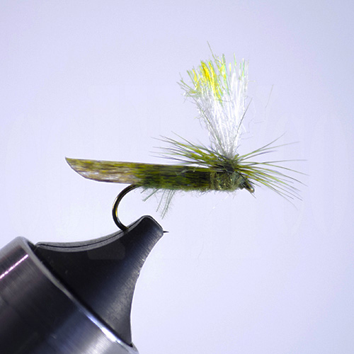 Caddis High Vis Parachute Olive