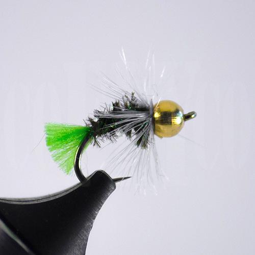 Peacock Green Beadhead